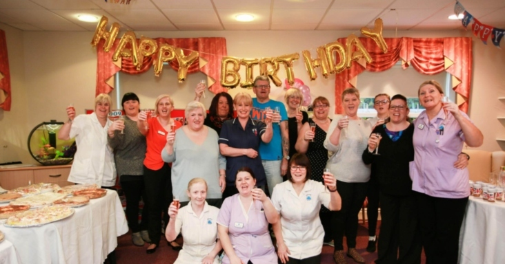 Newton Aycliffe care home celebrates it's tenth anniversary