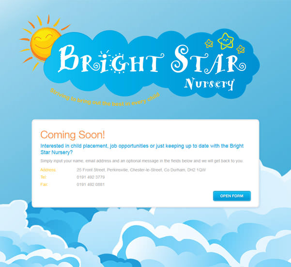 Bright Star Nursery Opening March 2017